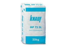 Супер лека гипсова мазилка за машинно полагане Knauf МР75SL
