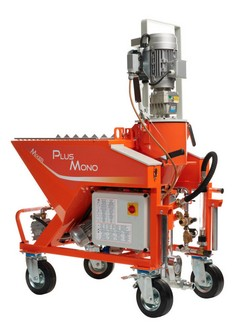 МОНОФАЗНА МАШИНА ЗА МАЗИЛКА Mixer Plus Mono  3 kW