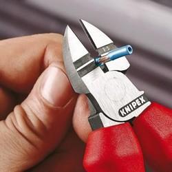 КЛЕЩИ СТРАНИЧНИ ЗА СВАЛЯНЕ НА ИЗОЛАЦИЯ ХРОМИРАНИ 160 mm, 14 25 160, KNIPEX