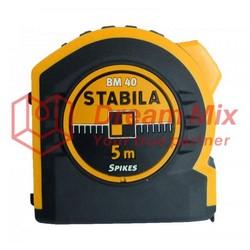 Pocket shockproof measuring tape STABILA BM 40, 5 m / 19 mm