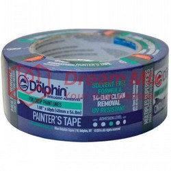 PROFESSIONAL PAINTING TAPE BLUE DOLPHIN